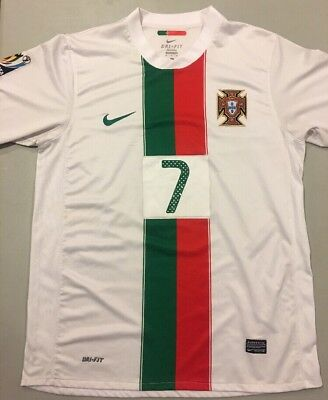 best sneakers 1985d 58c00 NIKE MENS CRISTIANO Ronaldo Size XL Portugal 2010 World Cup Away Jersey Rare