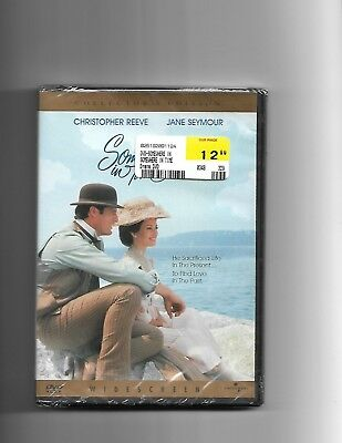 Somewhere In Time (OOP 2000 DVD, Brand New)  Christopher Reeve, Jane Seymour