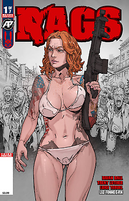 RAGS 1 3rd PRINT VARIANT NM ANTARCTIC PRESS ZOMBIES HOT BOOK 1st & 2nd SOLD OUT