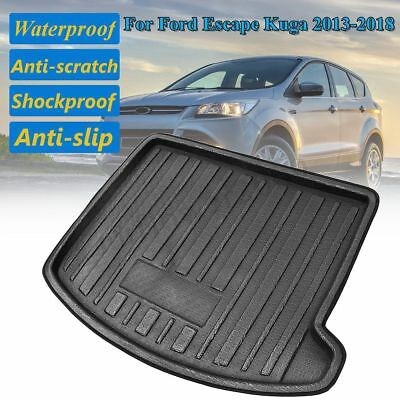 Tray Boot Liner Cargo Rear Trunk Mat Floor Carpet For Ford Escape Kuga