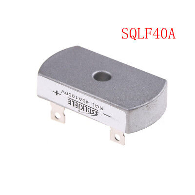 1Pcs Bridge Rectifier Three/3 Phase Diode 40A Amp 1000V SQL40A New vbuk