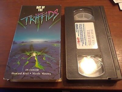 Day Of The Triffids Rare VHS 1963 Nice United Home Video Blue Box Print! OOP