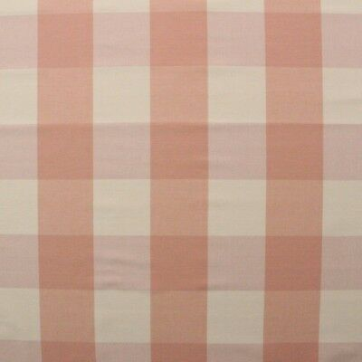 Ballard Designs Buffalo Check Blush Pink Cream Checker Multiuse Fabric By Yard