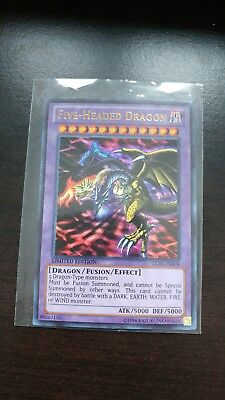 1x Five-Headed Dragon - Ultra Rare LC03-EN004 Limited Edition Near Mint