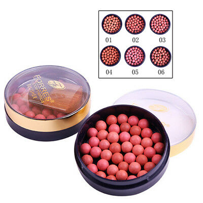 Beauty Ball Blusher Blush Blusher Powder Women Rouge Pearl Smooth Makeup Silky