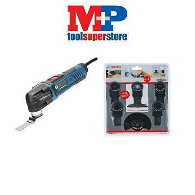 Bosch Gop 28-27 110 Volt Multi Tool + 6 Piece Blade Set(Reconditioned)