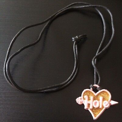 Hole Live Through This Promo Necklace 90s Courtney Love Nirvana Kurt Cobain RARE