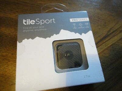Tile Sport PRO Series 1 Pack Tracker Bluetooth Anything Finder Brand New In Box