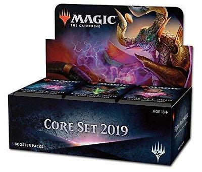 Magic the Gathering MtG Magic Core Set 2019 Booster Box [36 Packs] Sealed