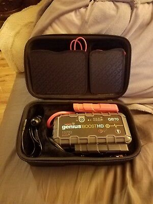 GB70 2000 amps- Noco Genius Boost only the booster not the case