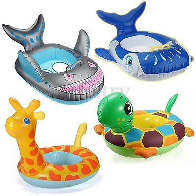 Inflatable Baby Kids Toddler Infant Swimming Pool Toy Swim Seat Float Boat Ring