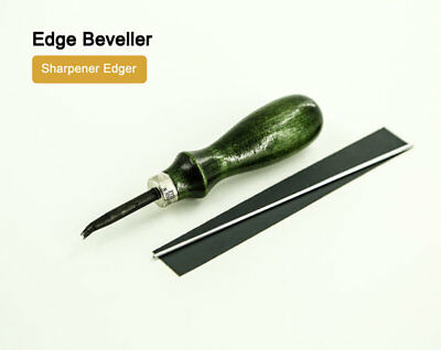 Deluxe Leather Edge Beveller Sharpener Edger Leathercraft Kyoshin Elle Groover