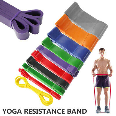 Exercise Bands Latex Resistance elastic Band -Pull Up Assist Bands Gym Fitness
