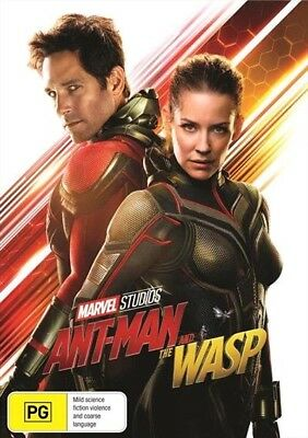 Ant-Man And The Wasp (DVD, 2018) Ex rental