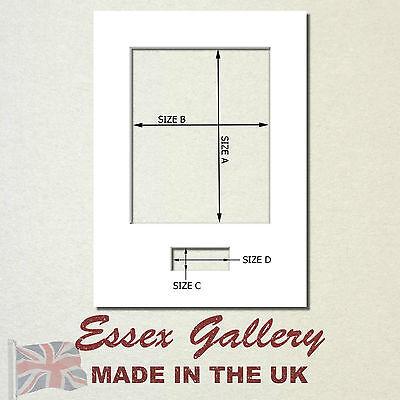 Picture & Photo Frame Mounts with Plaque Aperture Ideal for Signed Photos