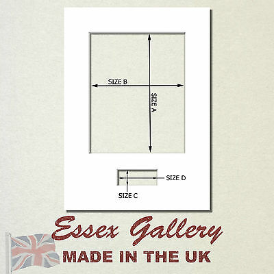 Picture & Photo Mounts with Plaque Aperture Ideal for Signed Photos