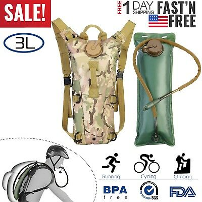 Camelback 3L Water Bladder Bag Hydration Backpack Pack Hiking Camping Cycling