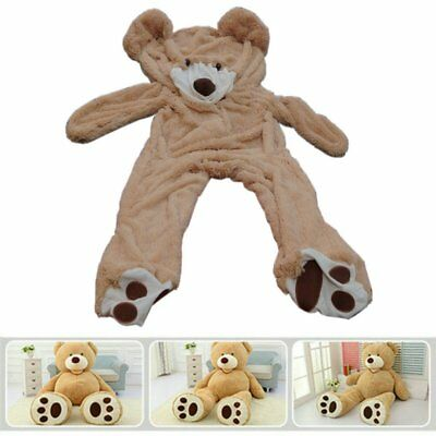 """Cute Light Brown Giant Teddy Bear Unfilled Plush Toy For Christmas Gift 78""""200CM"""