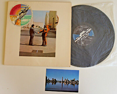 Pink Floyd ‎– Wish You Were Here 1975 Australia 1st Issue  CBS ‎– SBP 234651