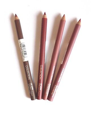 Collection Precision Colour Lip Liner Pencil ~ Pick A Shade ~ Pink Red Brown
