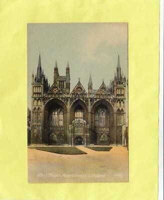 PETERBOROUGH  CATHEDRAL  west  front    ,   CAMBRIDGE   ( 13p  )