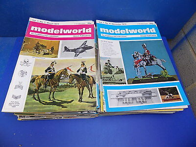 Almark Modelworld Magazine 1972, 1973 & 1974 Back Issues