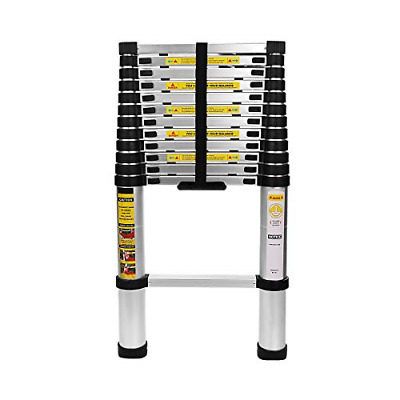 Telescoping ladder 12.5FT Aluminum telescopic Extension Multi Purpose Ladder 330