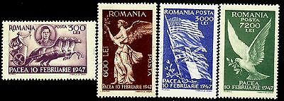 1947 King Michael,Peace Chariot,War Winners Flags,Pigeon,Angel,Romania,M1024,MNH