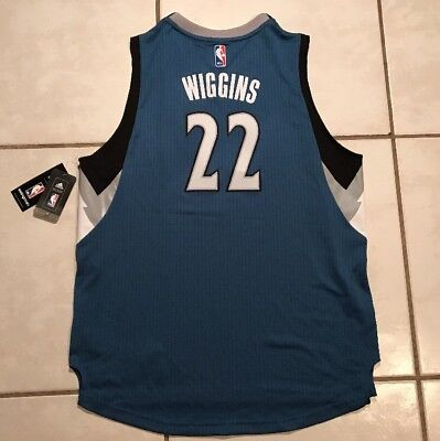 1f03e6b5d707 NWT ADIDAS SWINGMAN Minnesota Timberwolves Andrew Wiggins NBA Jersey Youth  XL