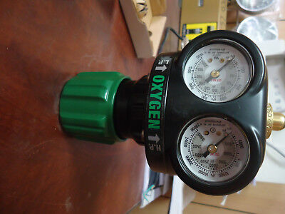 Victor Oxygen Pressure Regulator Edge Series ESS4-125-540 with free Arrestor