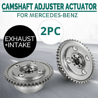 Us Camshaft (Exhaust+Intake) Adjuster Actuator For 02- Mercedes W204 SLK250 Look