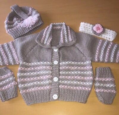 d21bbbed62c3 HAND KNITTED BABY Girl s Pink Skirt
