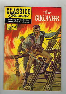 CLASSICS ILLUSTRATED No. 148 The Buccaneer - 25c - HRN 169