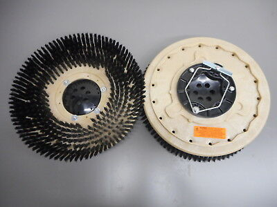"Set (2) Tennant 399244 T5  Nobles SS5 16"" Floor Scrubber Poly Brushes .028"