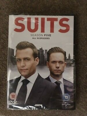 Suits season five 5 DVD New and sealed (16 episodes)