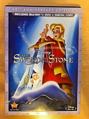 The Sword in the Stone (Blu-ray Disc, 2-Disc Set, 50th Anniversary)