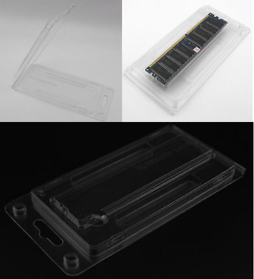 x4 ANTI STATIC DIMM Memory tray box container for Server//Desktop DDR2 DDR3 DDR4