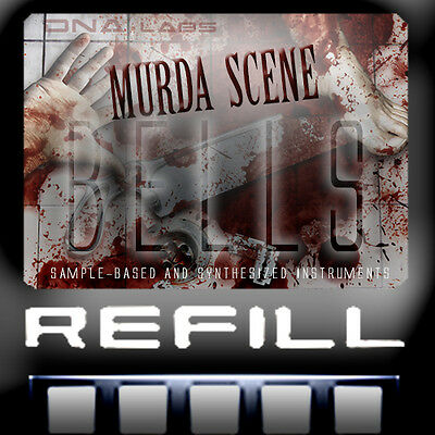 Reason Refills Trap Murda Scene Bells Vocoded Synthesized Trap Sounds