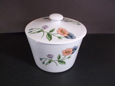 House of Prill Poppy Covered storage jar