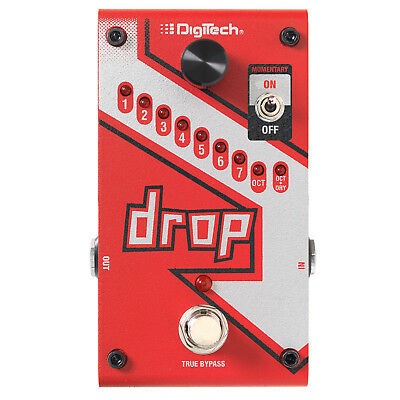 DigiTech The Drop Polyphonic Drop Tune Guitar Effects Pedal
