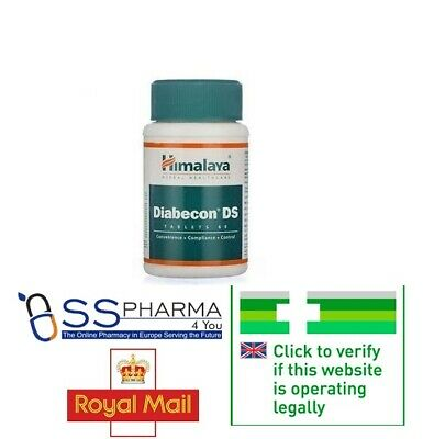 🇬🇧 Diabecon Ds Himalaya Herbal 60 tabs,Fast UK Delivery Royal mail Trusted