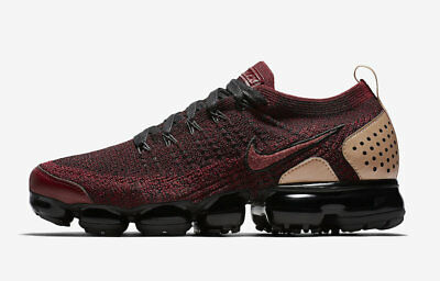 Nike Air Vapormax Flyknit 2 NRG Team Red Black AT8955-600 Size 4.5 LIMITED