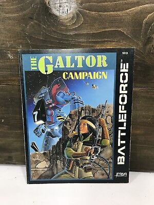 BATTLETECH - BATTLEFORCE: The Galtor Campaign 1613 FASA 1987
