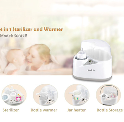 4 in 1 Multi-functional Breast Milk Heater Baby Bottle Warmer Breast Sterilizer
