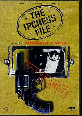 The Ipcress File Michael Caine Widescreen New Sealed 1999 Anchor Bay R1 Dvd Oop
