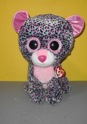 TY Beanie Babies Boo Peek A Boos Phone Holder Boo/'s New Tags Trixi the Leopard