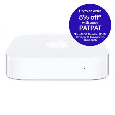 Refurbished Apple AirPort Express Router Dual Band 2.4 / 5 GHz (MC414X/A)