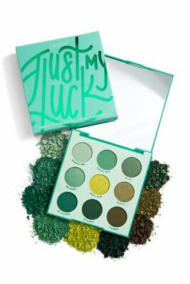 Colourpop  Just My Luck  Eyeshadow Palette 9 Pan New Green Authentic In Stock Au