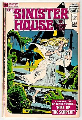 Sinister House Of Secret Love #4 May 1972 Vf- 7.5 Dc Comics