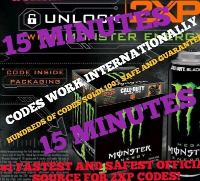 2Xp Code Sent In Message In 10 Min - 24/7 - 15 Min Call Of Duty Double Xp Codes